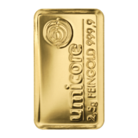 Gold Bars 2,5 Gramm